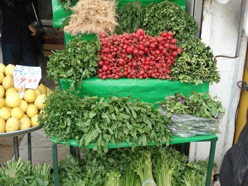 فهرست سبزیجات ایران