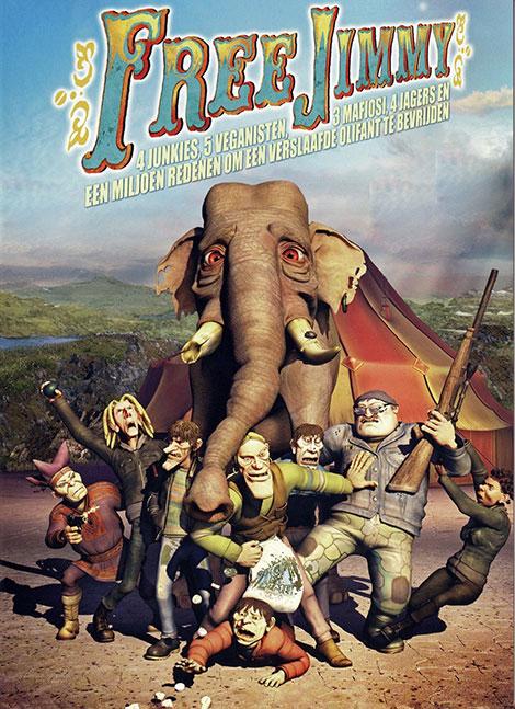 دانلود رایگان دوبله فارسی انیمیشن جیمی آزاد Free Jimmy 2006