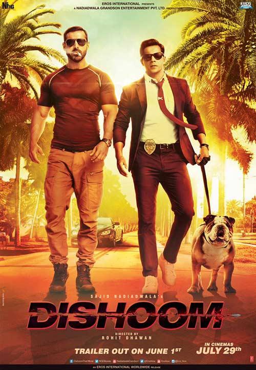 دانلود رایگان فیلم Dishoom 2016
