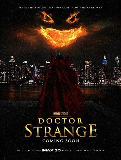 دانلود رایگان فیلم Doctor Strange 2016