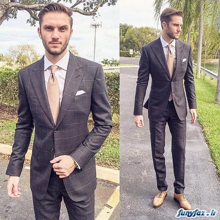 مدل کت و شلوار جدید و شیک 2016