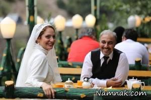 مهناز افشار با لباس عروس در نهنگ عنبر + تصاویر