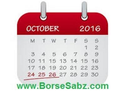 ارزش واقعی جفت ارزها در اکتبر 2016
