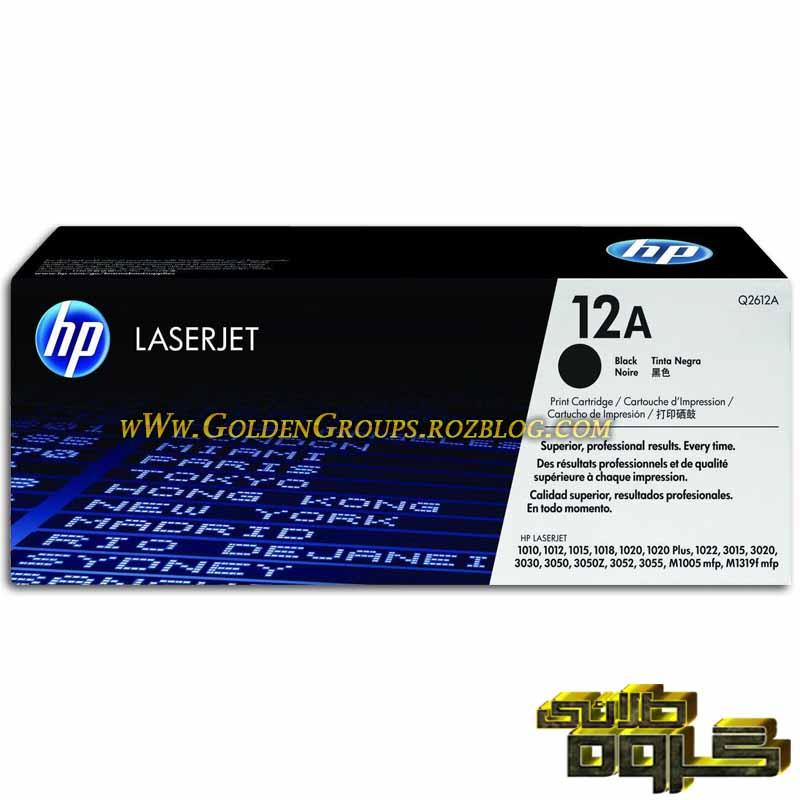 کارتریج لیزری اچ پی مدل Laser Cartridges HP 12A - Q2612A