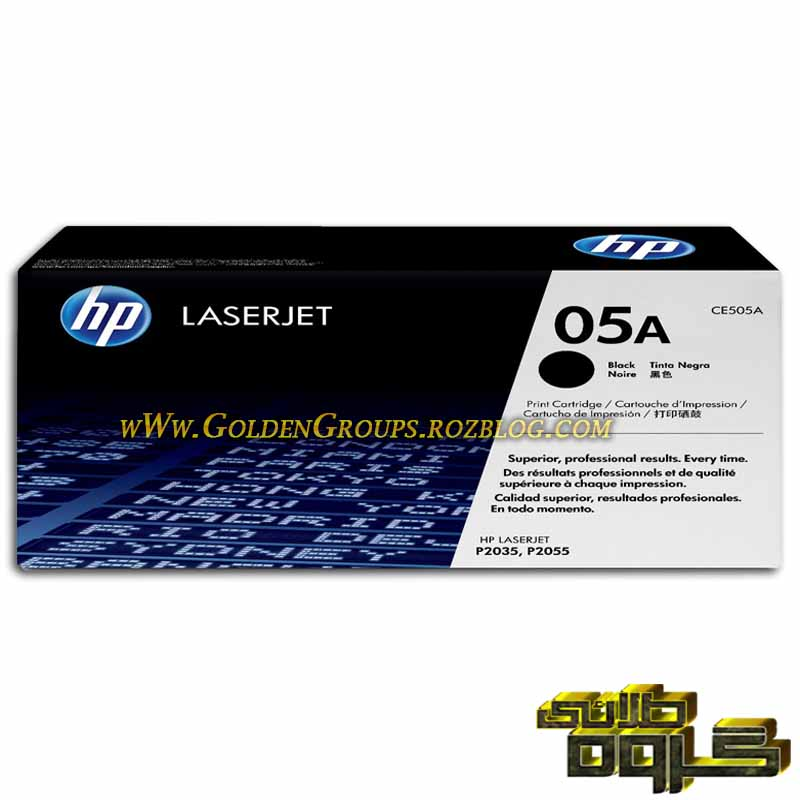 کارتریج لیزری اچ پی مدل Laser Cartridges HP 05A - CE505A