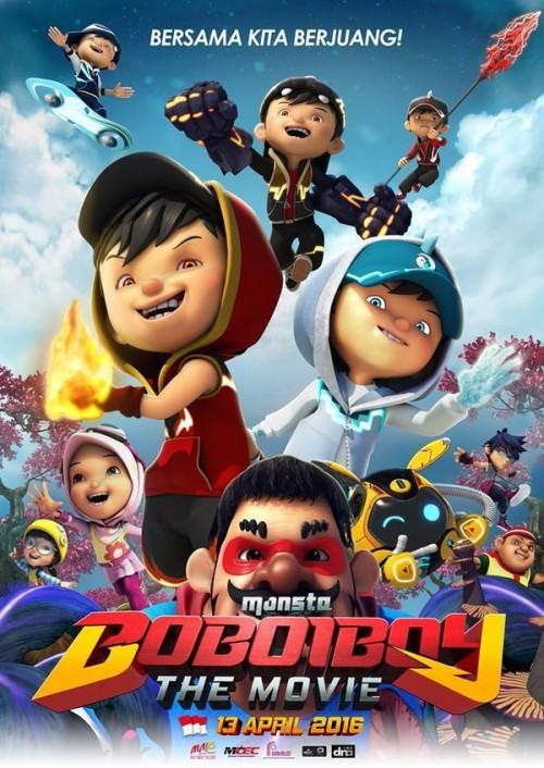 دانلود رایگان انیمیشن BoBoiBoy: The Movie 2016
