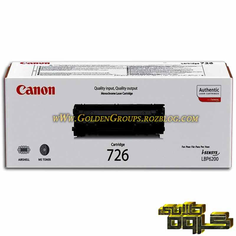 کارتریج لیزری کانن مدل Laser Cartridges Canon 726- 726