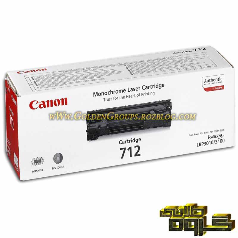 کارتریج لیزری کانن مدل Laser Cartridges Canon 712- 712
