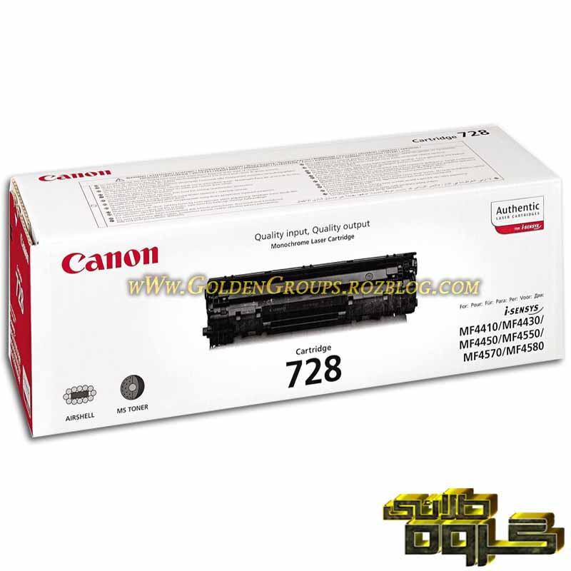 کارتریج لیزری کانن مدل Laser Cartridges Canon 728- 728