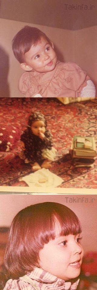 عکس کودکی پرستو سالحی
