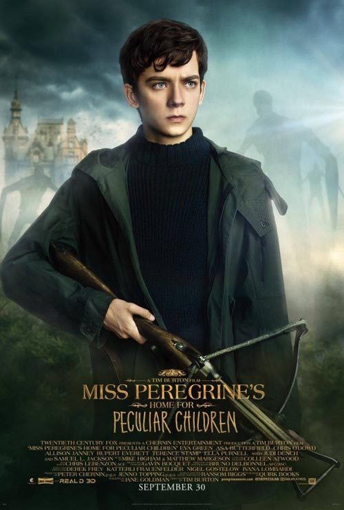 دانلود رایگان فیلم Miss Peregrines Home For Peculiar Children 2016