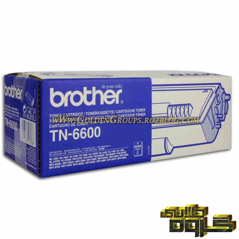 کارتریج لیزری برادر مدل Laser Cartridges Brother TN-6600 - 6600