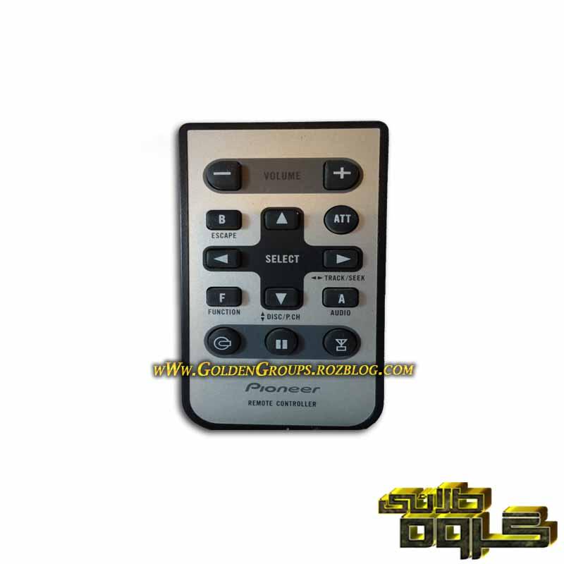کنترل ضبط ماشین پایونیر - Pioneer car stereo controls