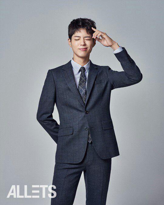 عکسای بازیگر خوشتیپ Park Bo Gum برای برند کت و کراوات TNGT