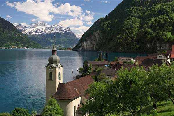 جاذبه های طبیعی سوییس