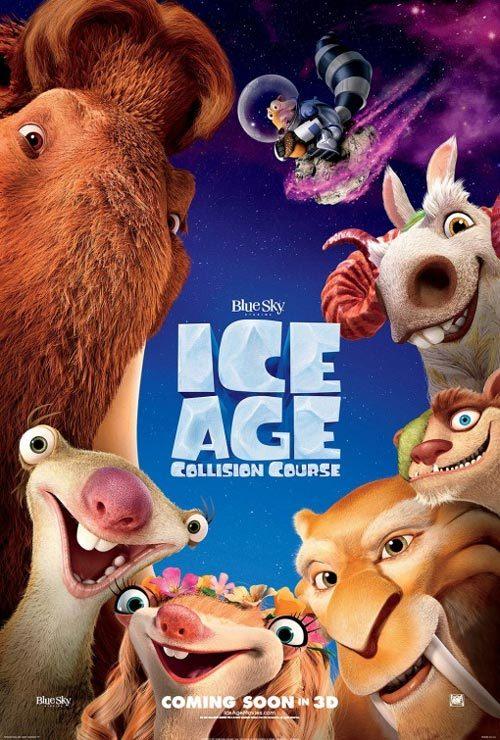 دانلود انیمیشن عصر یخبندان ۵ Ice Age: Collision Course 2016 دوبله فارسی