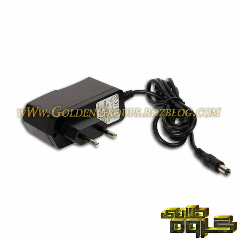 آداپتور سوئیچ 12 ولت 1 آمپر دیواری - 12V 1A wall adapter switch