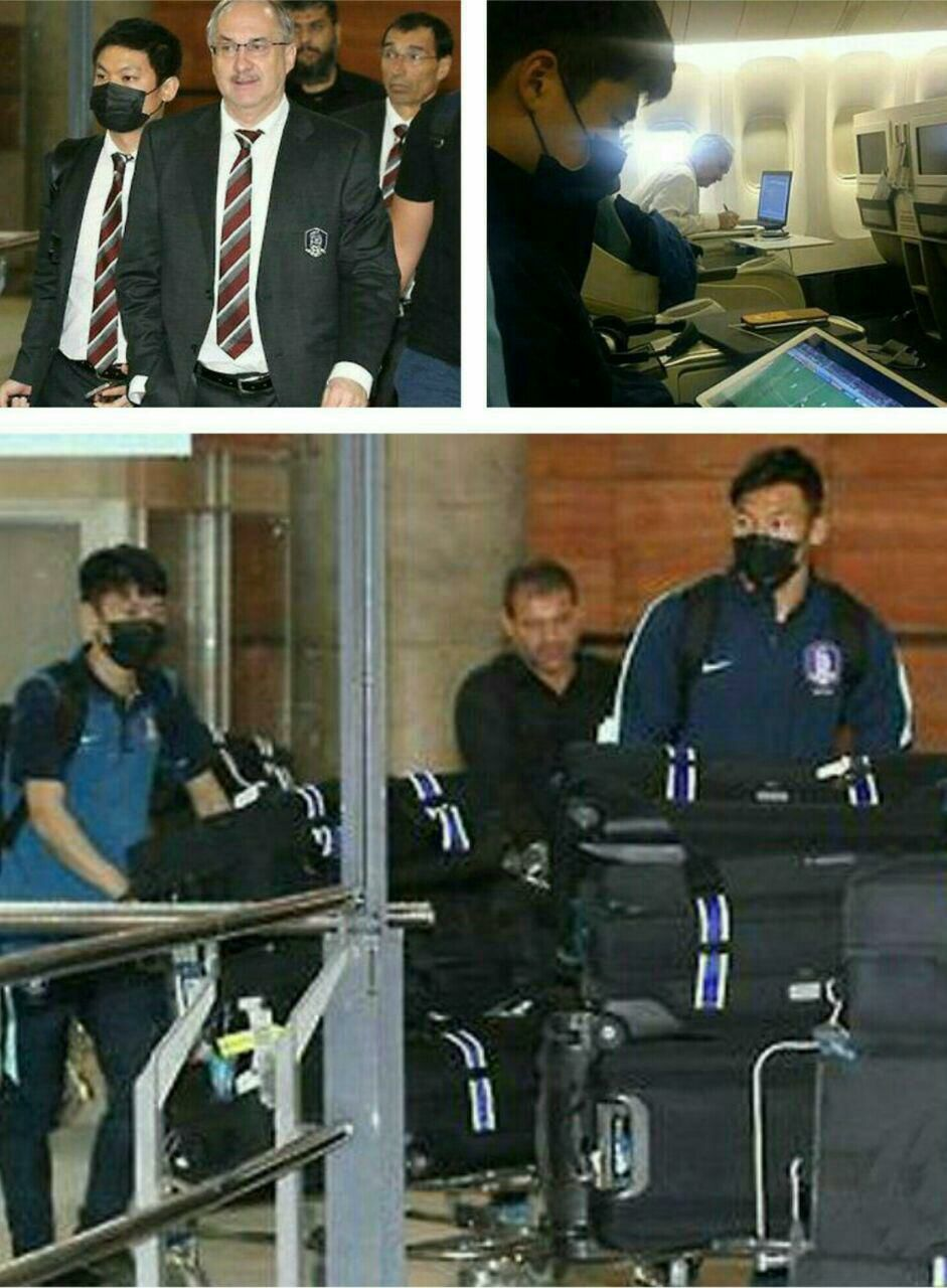 علت ماسک زدن بازیکنای کره جنوبی هنگام ورود به فرودگاه ، برخلاف نظر عده ای ، محرم نیست
