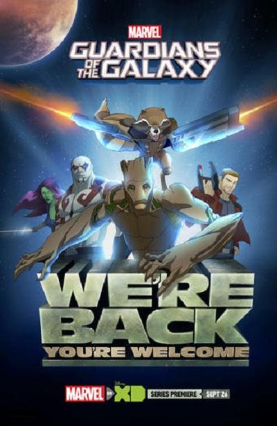دانلود فصل اول انیمیشن نگهبان کهکشان - Guardians of the Galaxy Season 1