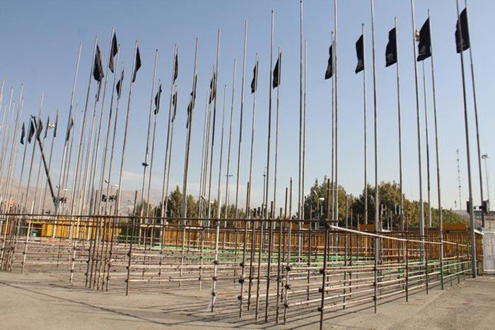 دیدار ایران و کره و عاشورایی شدن ورزشگاه آزادی