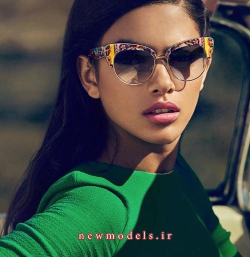 عینک دودی دخترانه