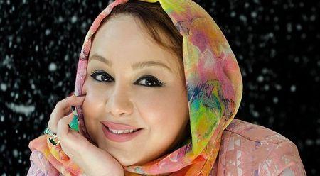 عکس بهنوش بختیاری با چادر