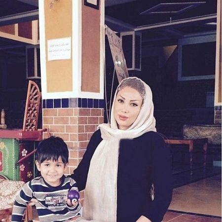 عکس محسن چاوشی و همر و پسرش