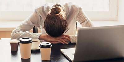 نشانه که علامت استرس کاری هستند