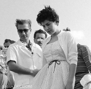 تصاویری از کارهای بی شرمانه محمدرضا پهلوی و ثریا در ساحل میامی