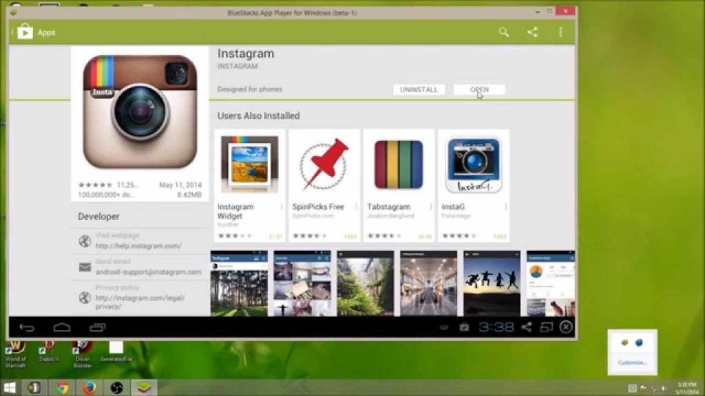 دانلود نرم افزار اینستاگرام نسخه ی ویندوز