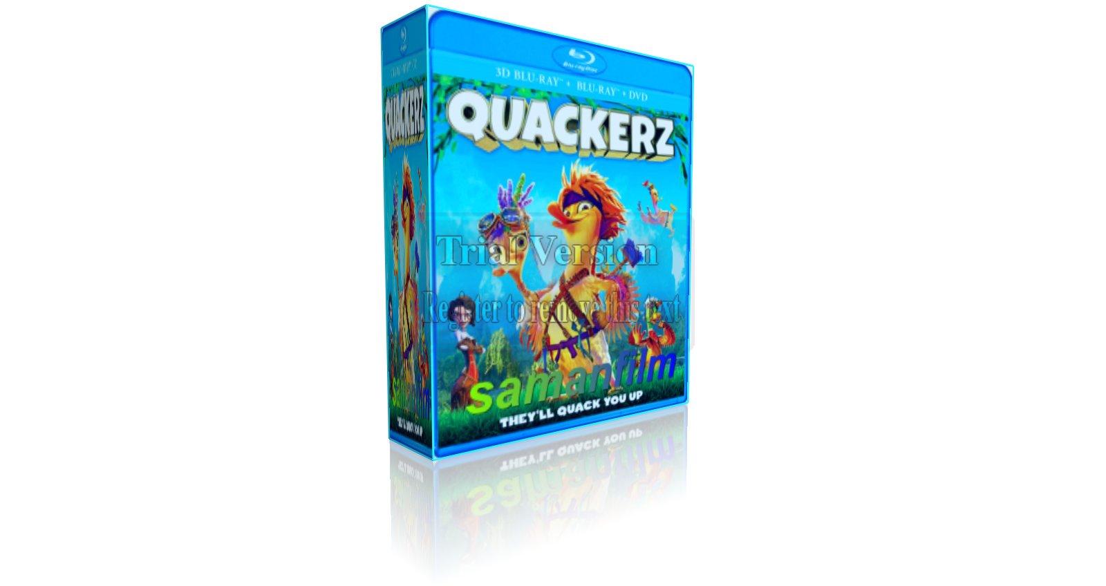 دانلود انیمیشن اردک ها Quackerz 2016 دوبله فارسی