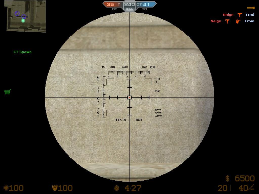 دانلود اسکوپ AC-130 Spec. 104mm برای کانتر استریک 1.6