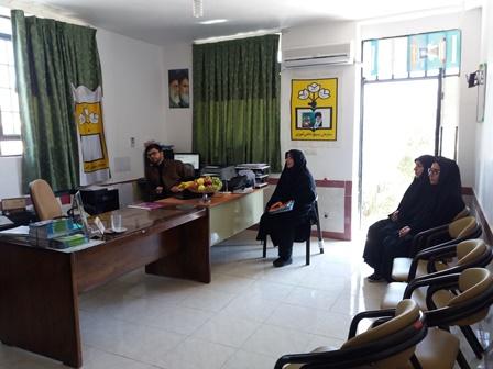 بازرسی نظارت ستادی از حوزه بسیج دانش آموزی ممسنی