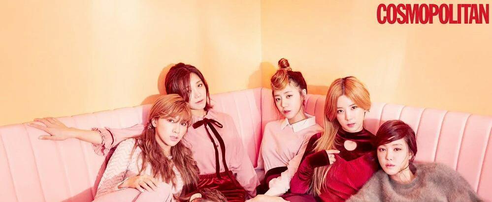 عکس های جدید دخترای Apink چاپ ماه نوامبر مجله کره ای  Cosmopolitan