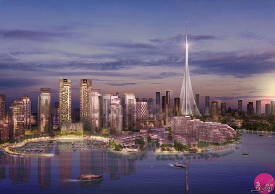 دوبی ساخت بلندترین برج جدید جهان را آغاز کرد