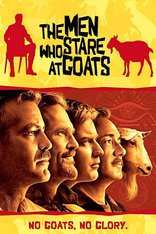 دانلود دوبله فارسی فیلم بزها خیره میشوند The Men Who Stare at Goats 2009