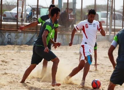چگونگی فوتبال ساحلی