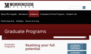 یوزر و پسورد دانشگاه Morningside آمریکا