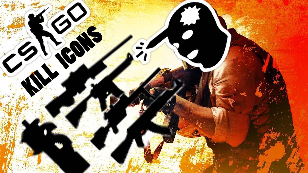 دانلود کیلل ایکون CS GO Kill Icons برای کانتر