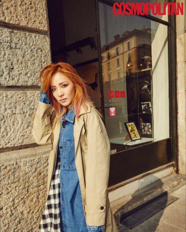 عکس های جدید #Dara عضو #2NE1 برای مجله #Cosmopolitan که در میلان ایتالیا عکس برداری شده