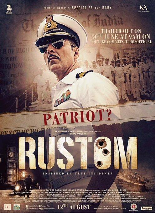 دانلود رایگان فیلم Rustom 2016