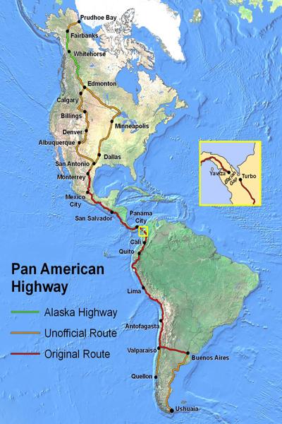 طولانی ترین جاده در جهان!
