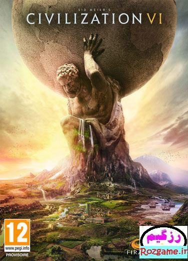 دانلود بازی کامپیوتر Sid Meiers Civilization VI نسخه RELOADED