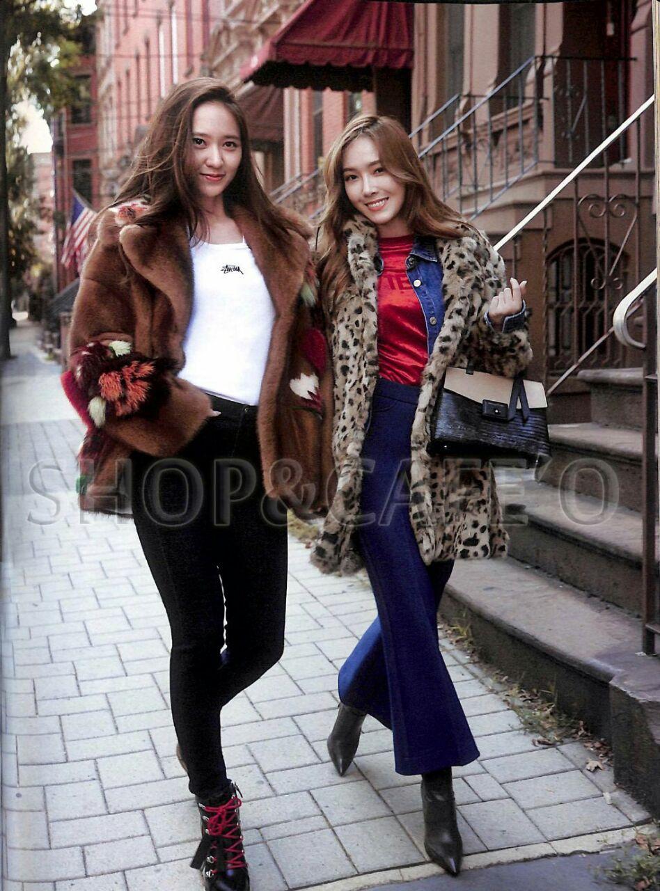 عکس های کریستال و جسیکا برای مجله ی Cosmopolitan