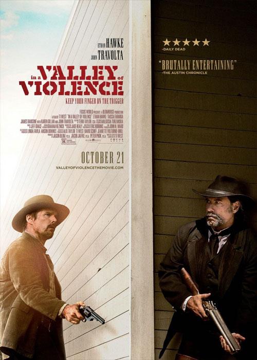 دانلود رایگان فیلم خارجی In A Valley Of Violence 2016