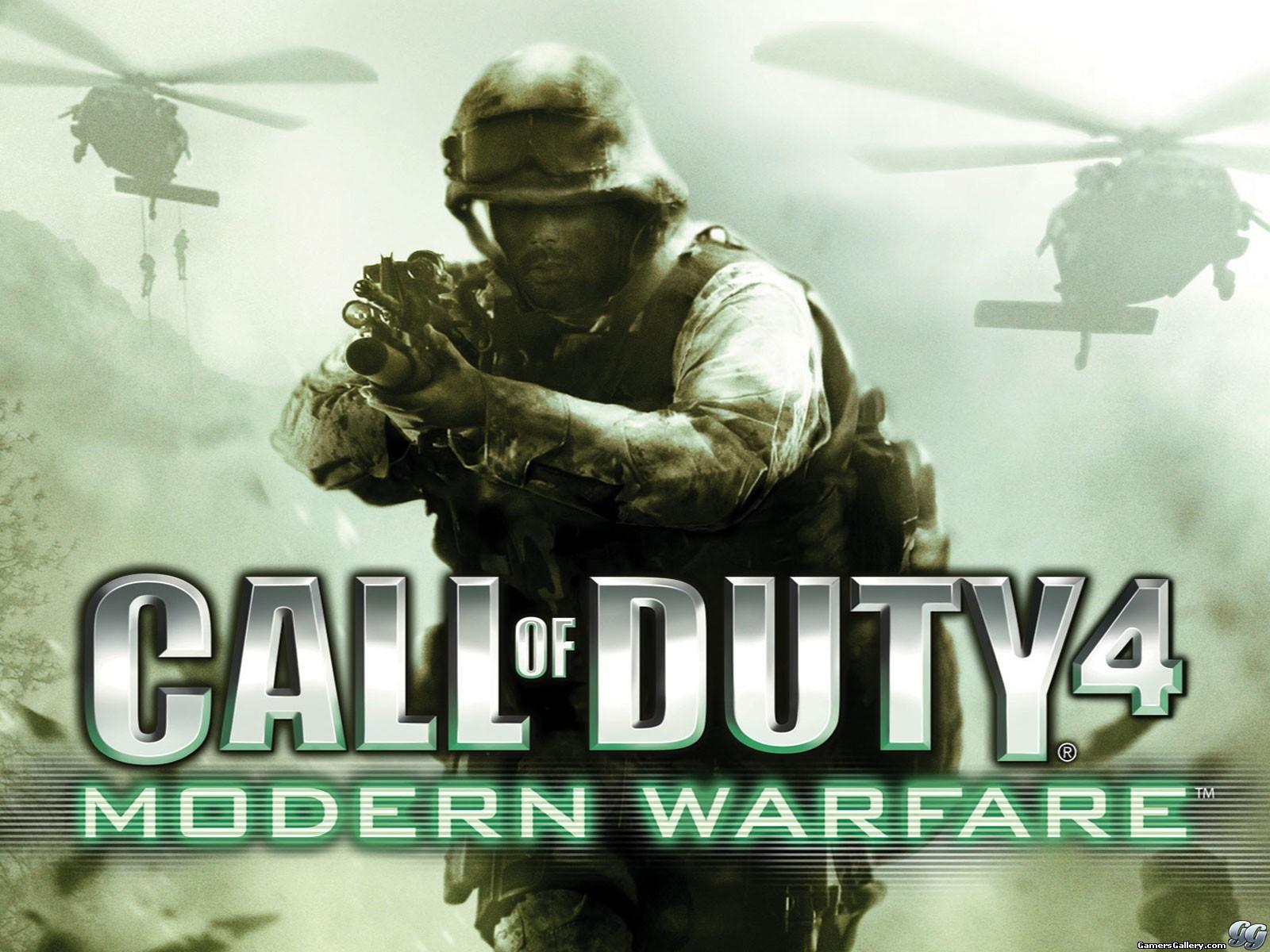دانلود بازی  Call of Duty 4 Modern Warfareبرای کامپیوتر