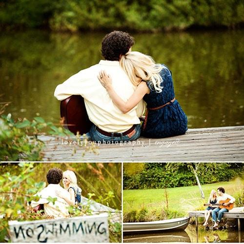 عکس های عاشقانه بوسه زن و شوهری