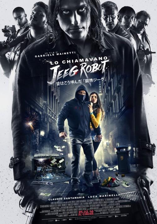 دانلود رایگان فیلم خارجی They Call Me Jeeg Robot 2015