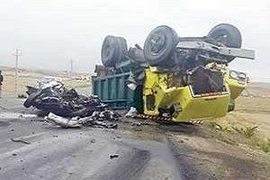 تصادف مرگبار پس از قتل همسر