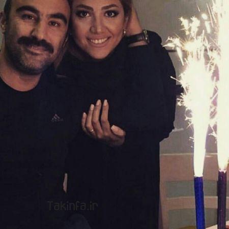عکس های محسن تنابنده و همسرش روشنک گلپا